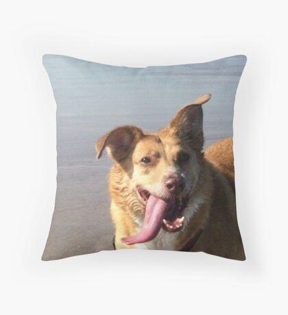 A Zest for Life Throw Pillow