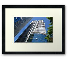 Exterior of Modern Buildings in Buenos Aires, Argentina Framed Print