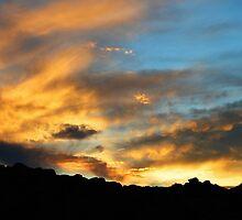 Clouds Of Liquid Gold by Glenn McCarthy