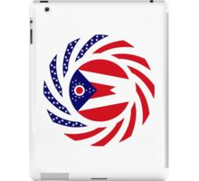 Ohio Murican Patriot Flag Series iPad Case/Skin