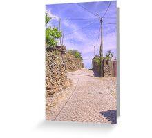 Rua do Cemitério Greeting Card