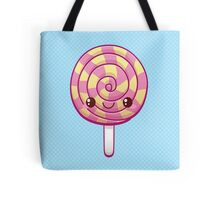 Kawaii Pink Lollipop Tote Bag