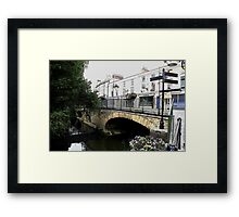 The Bridge from Willow Vale Framed Print