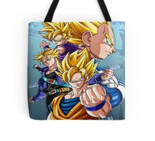 4 Super Saiyan Tote Bag