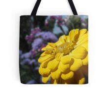 Golden Zinnia Tote Bag