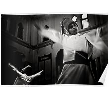 Whirling Dervish dance Poster