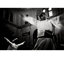 Whirling Dervish dance Photographic Print