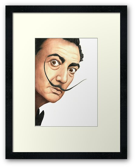 Salvador Dali 1183 views by Margaret Sanderson