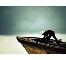dark cloud ahead Photographic Print