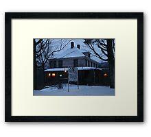 Snyder's Tavern Framed Print