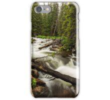 Pine Tree Forest Creek Portrait iPhone Case/Skin