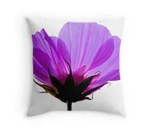 A Hue of Purple Throw Pillow