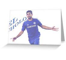 El Cholo - Diego Costa Greeting Card
