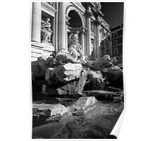 Trevi Fountain Italy Poster