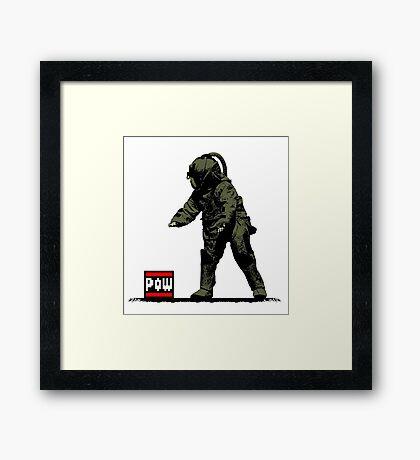 POW & BombSquad Framed Print