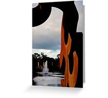 Torrens Sculpture Greeting Card