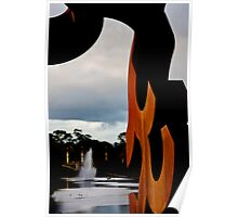 Torrens Sculpture Poster