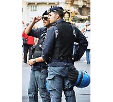 cool arm of the law Photographic Print