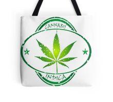 Cannabis stamp Tote Bag