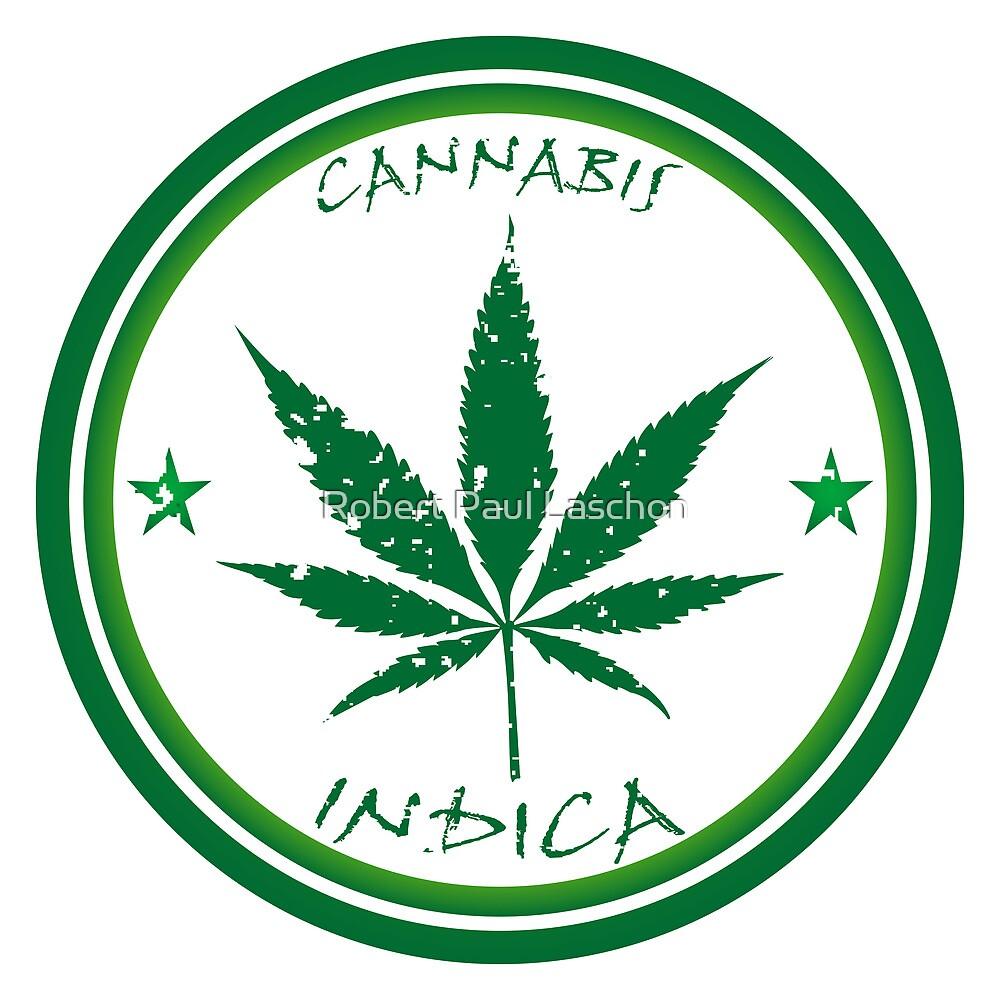 Cannabis stamp by Laschon Robert Paul