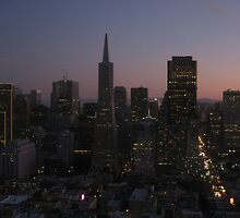 San Francisco from Coit Tower by Mark Prior