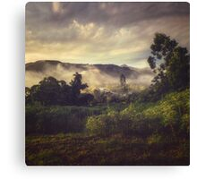 Sunrise Overflow Canvas Print