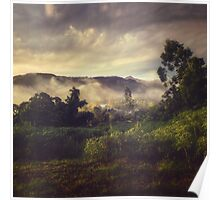 Sunrise Overflow Poster