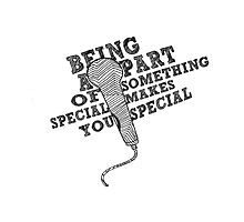 Being A Part of Something Special Makes You Special || Glee by linked-pinkies