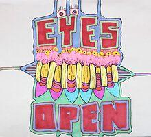 EYES OPEN - LARGE FORMAT by Scott Stebbins