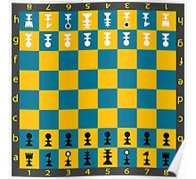 Chess table Poster