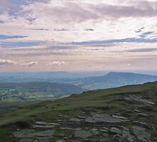 A Morning looking over towards Brecon - Wales by Nala