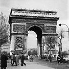 Arc de Triomphe - Paris 1960 by Trevor Kersley