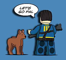 LEGO Fallout 4 by mellowmind