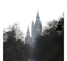 Misty Westminster Photographic Print