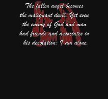 The Fallen Angel Frankenstein Womens Fitted T-Shirt