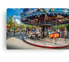 Carousel Columbus Commons Canvas Print
