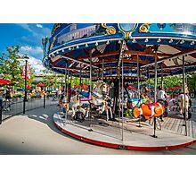Carousel Columbus Commons Photographic Print