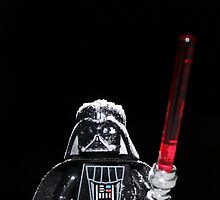 Darth Vader Snow by Kirk Arts