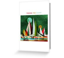 Young the Giant Greeting Card