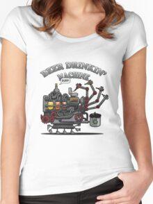 Beer Machine Women's Fitted Scoop T-Shirt