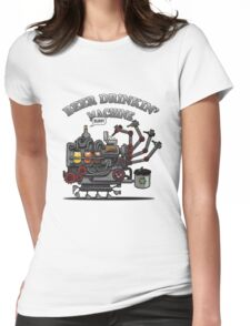 Beer Machine Womens Fitted T-Shirt