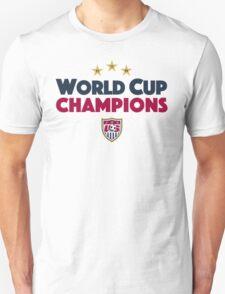 World Cup Champions USA Women's Soccer Team Light T-Shirt