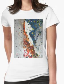 Fracture Womens Fitted T-Shirt