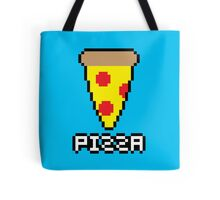 8-Bit Pizza Tote Bag