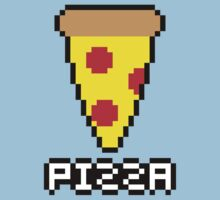 8-Bit Pizza Kids Clothes