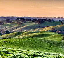 ...Gippsland sunset... by Geoffrey Dunn