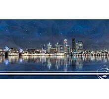 Louisville Skyline Photographic Print