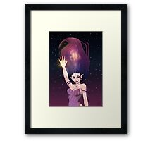 Space Elf. Framed Print