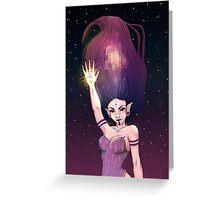 Space Elf. Greeting Card