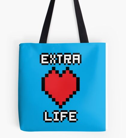 Extra Life Tote Bag